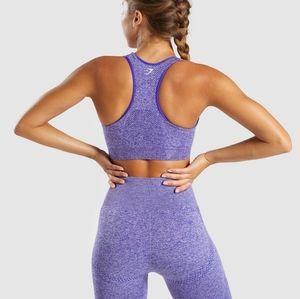 New Small Gymshark Vital Seamless Purple Leggings